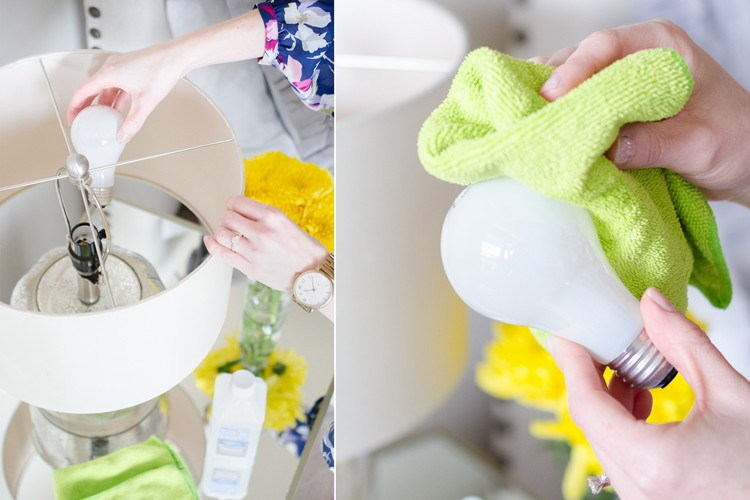 Dusting Bulbs - Cleaning Hacks Everyone Should Know