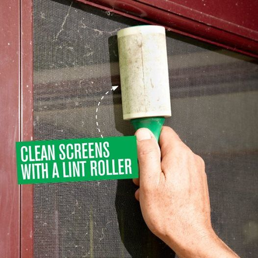 Clean Screen Doors - Cleaning Hacks Everyone Should Know