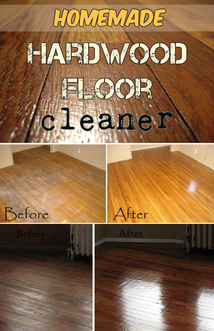 Cleaning Hacks Everyone Should Know - Hardwood Floor Cleaner