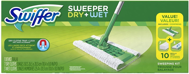 Swiffer Sweeper Wet & Dry Mop Starter Kit